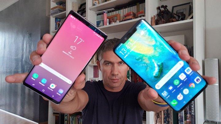 Samsung Galaxy Note9 vs. Huawei Mate 20 Pro - Usporedni test