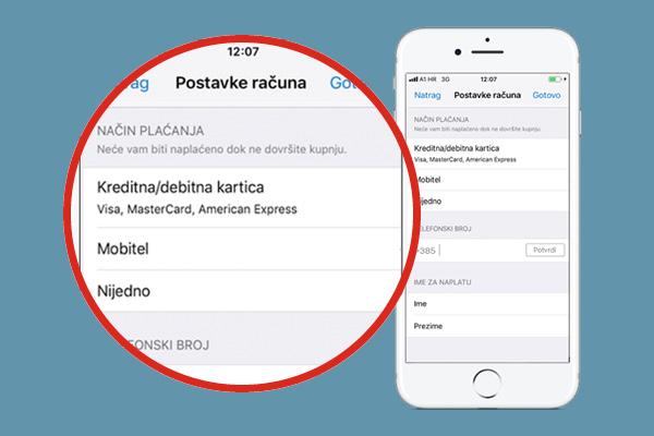 Korisnici A1 u App Storeu odsad mogu plaćati direktno s računa mobilnog telefona