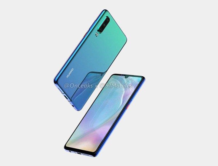 Huawei P30 navodno s persikopskim objektivom za optičko povećanje