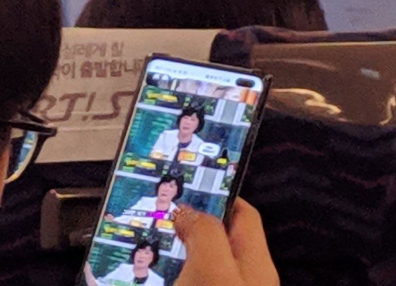 Galaxy S10+ dizajn potvrđen još jednom fotografijom uživo
