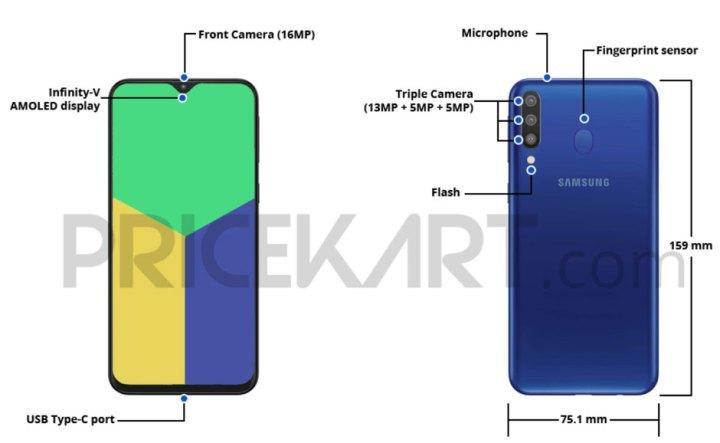 Galaxy M30 stiže uskoro, donosi 6.4'' zaslon, trostruku kameru i 5000 mAh bateriju
