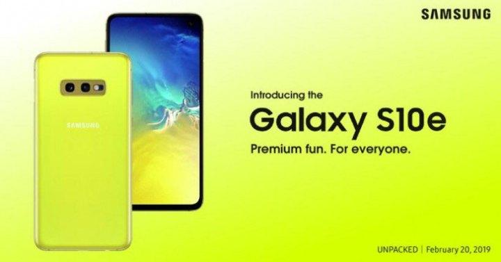 Galaxy S10e prži oči sa službenog postera