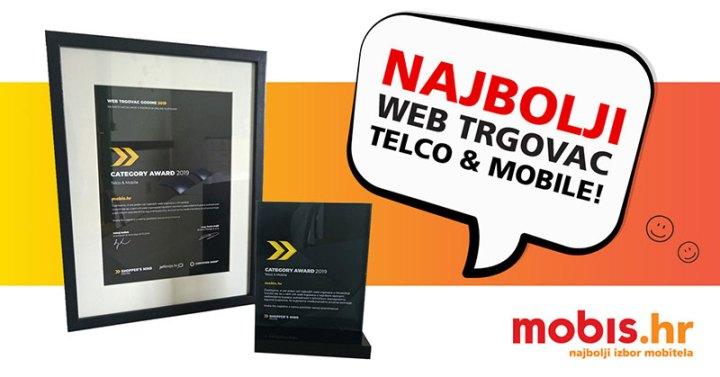 Mobis.hr, najbolji webshop u kategoriji Telco i mobile na natjecanju Web trgovac godine