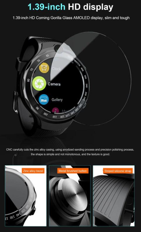 Cool smartwatch s dvije kamere i 4G telefonijom po super cijeni!