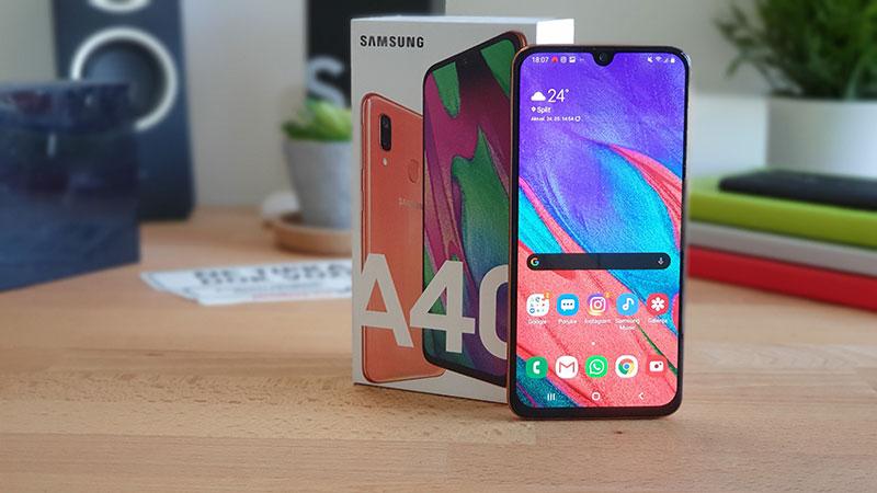 Recenzija: Samsung Galaxy A40