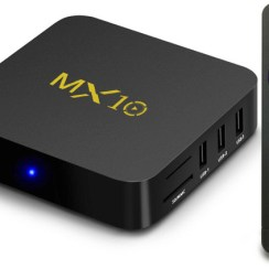 MX10 Android 4K TV Box 4/64GB u Cafagu samo €46.74