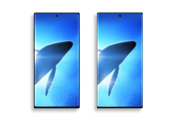 Galaxy Note 10 bez fizičkih gumba je zaista bio u planu