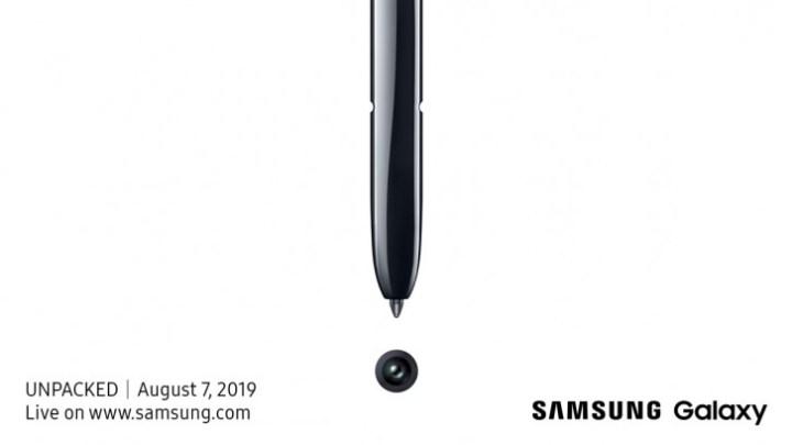 Novi Galaxy Unpacked službeno najavljen za 7. kolovoza Stiže Galaxy Note 10