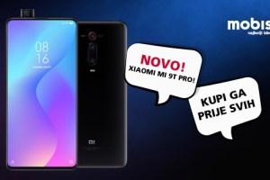 Xiaomi MI 9T Pro stigao u mobis.hr! Imaj ga prije svih!