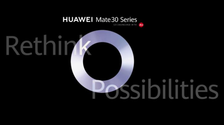 Huawei Mate 30 Livestream