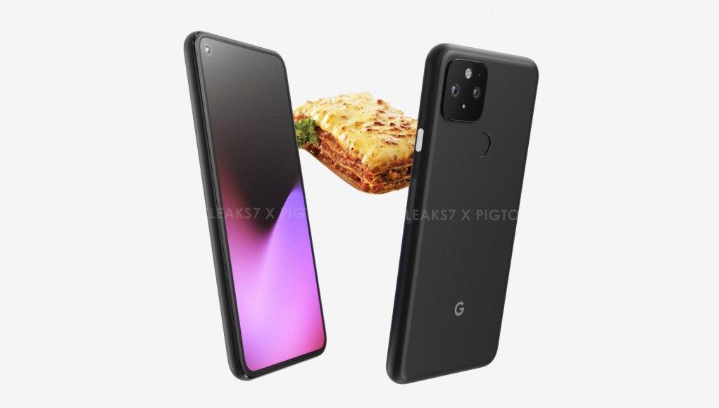 Pixel 5 motion blur lasagna
