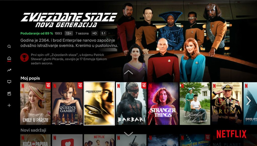 Netflix na hrvatskom