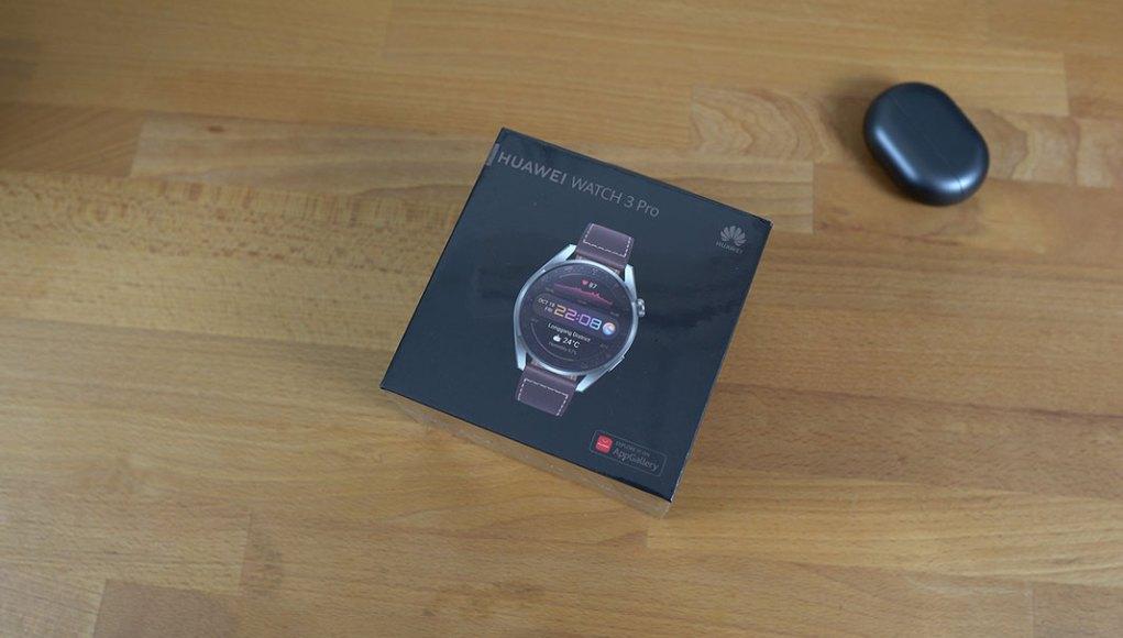 Huawei Watch 3 Pro unboxing