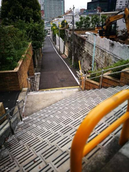 階段のある風景