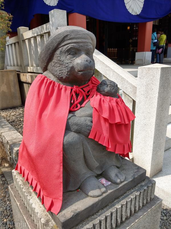 狛猿 母子バージョン