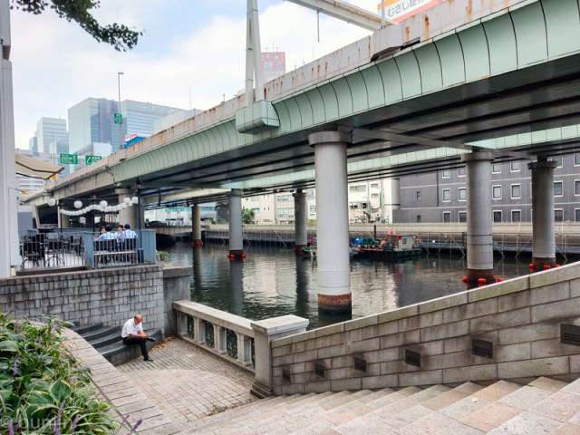 日本橋休憩中