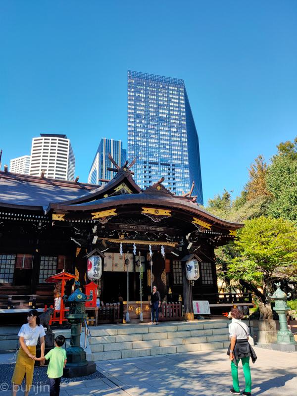 KUMANO Shrine in Shinjuku