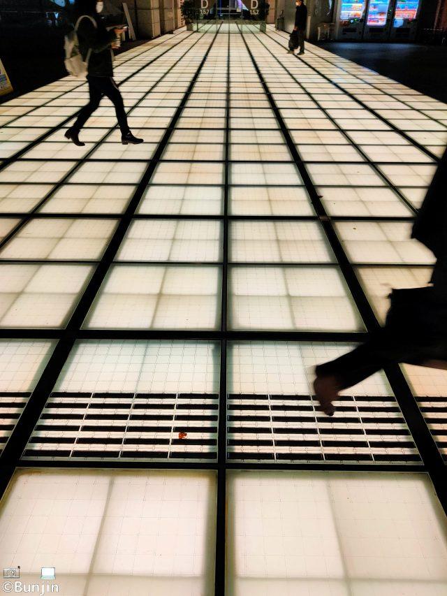 Light, shadow, and pedestrians