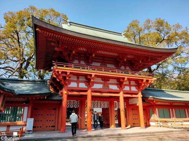 武蔵一宮 氷川神社 楼門