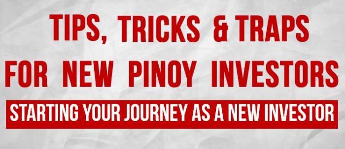 Investing in the Philippine Stock Market - Tips Tricks and Traps for Newbies