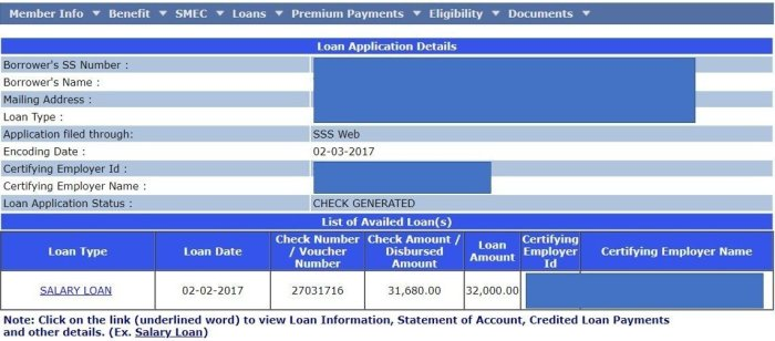monitoring how to apply SSS Salary loan online Philippines