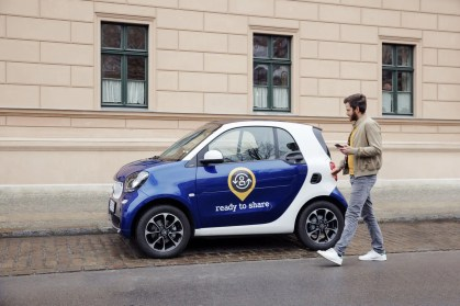 smart startet privates Carsharing
