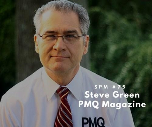 Steve Green PMQ Magazne
