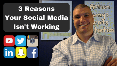 3 reasons your social media isn't working