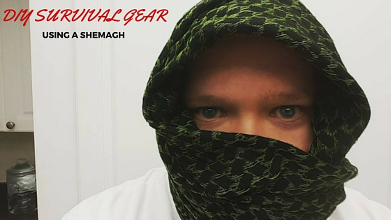 DIY survival gear using a shemagh