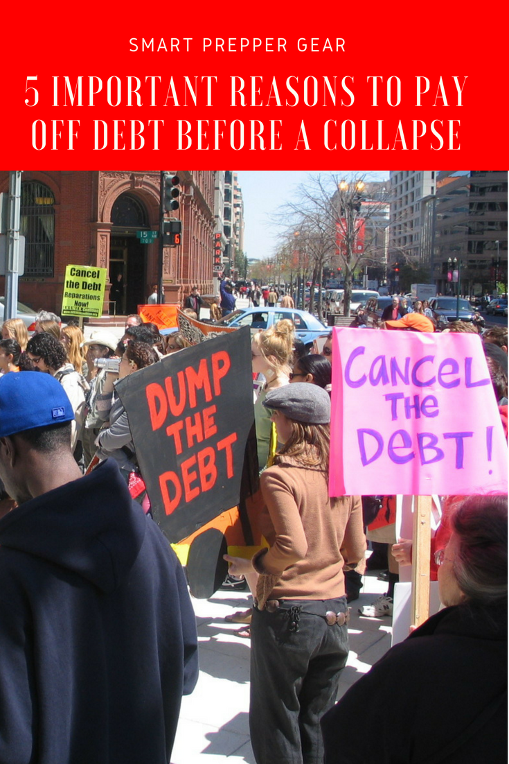 pay off debt before collapse