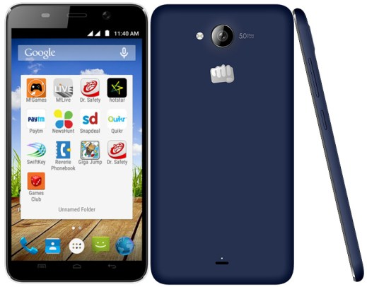 micromax canvas play launch