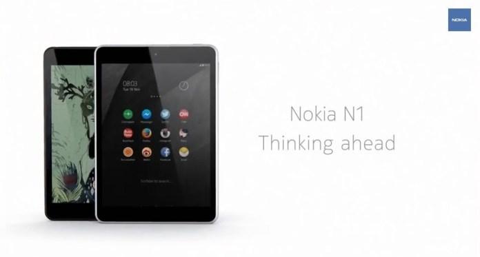 Nokia N1 release date