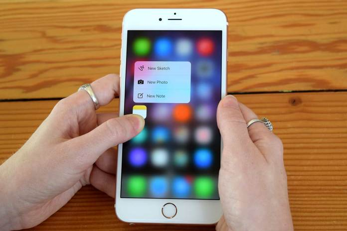 3d touch coming to Android