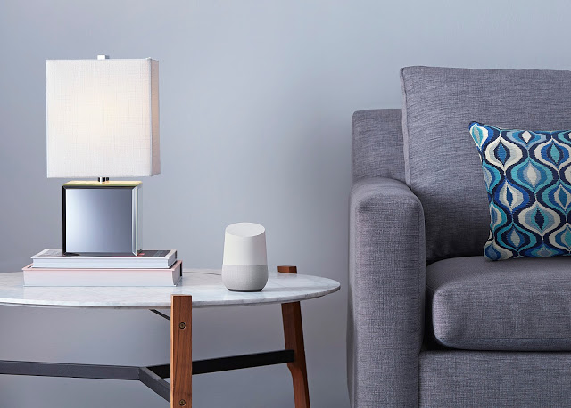 Google Home Sitting ideally in Livingroom