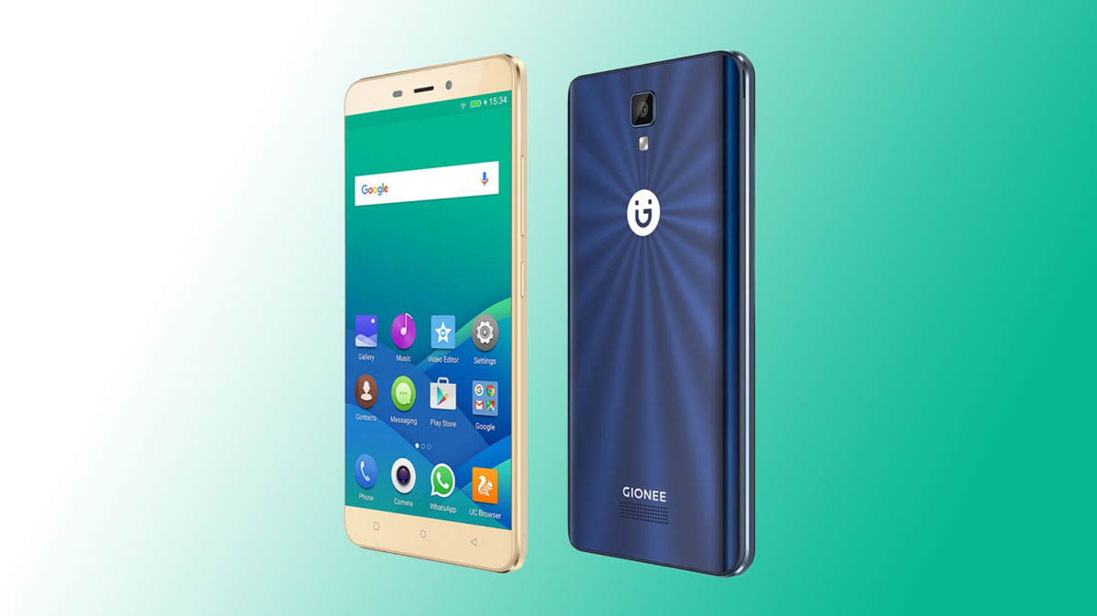new styles 60987 cc224 Gionee P7 Max with Fingerprint Scanner and 3GB RAM Launched At ...
