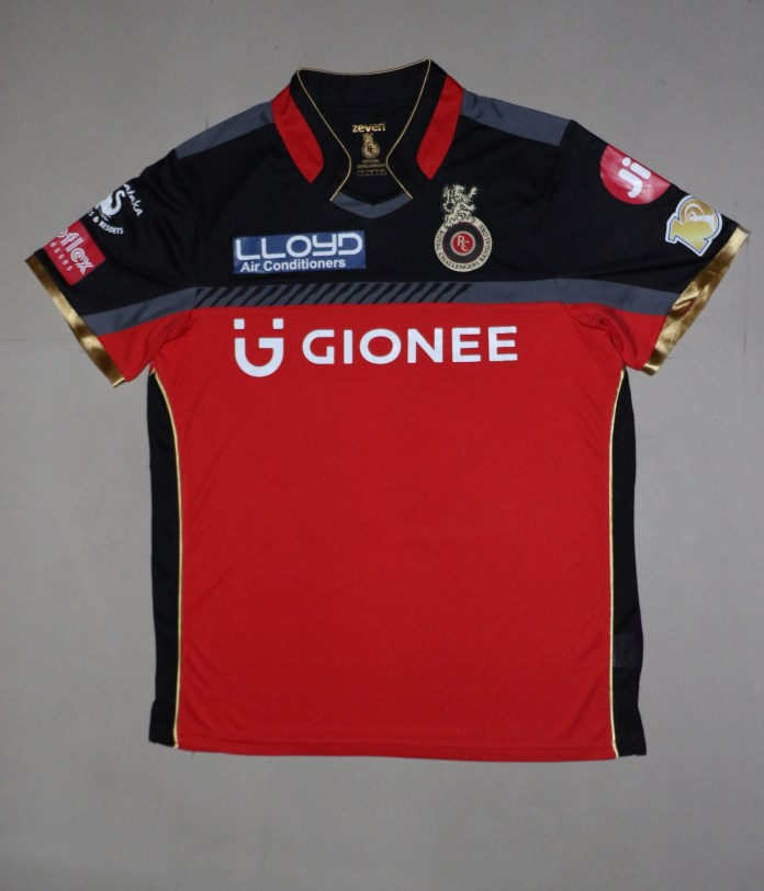 RCB Playing Jersey_Gionee