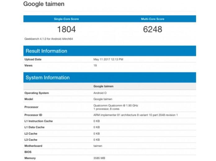google-taimen-geekbench-results
