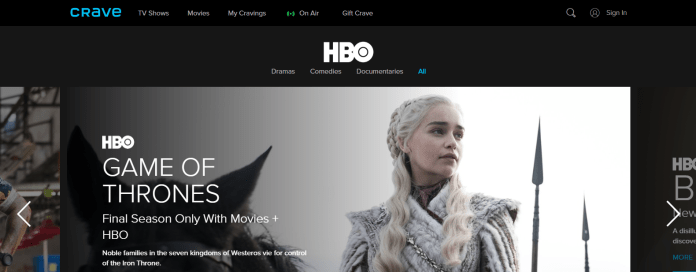 Crave Game Of Thrones