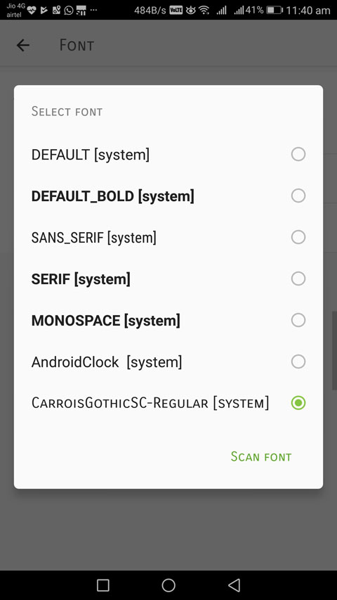 How to Change Default fonts On Android Phones Without Root