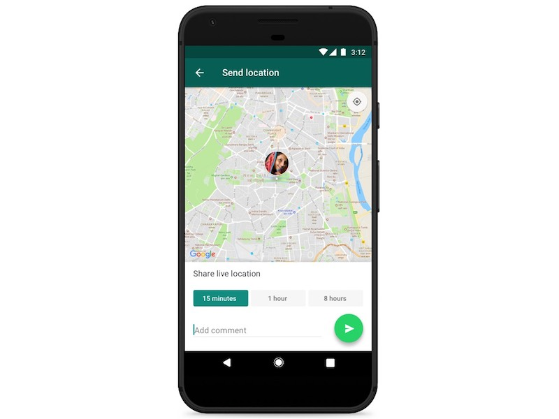 WhatsApp Adds Live Location Sharing Feature for Android and iOS