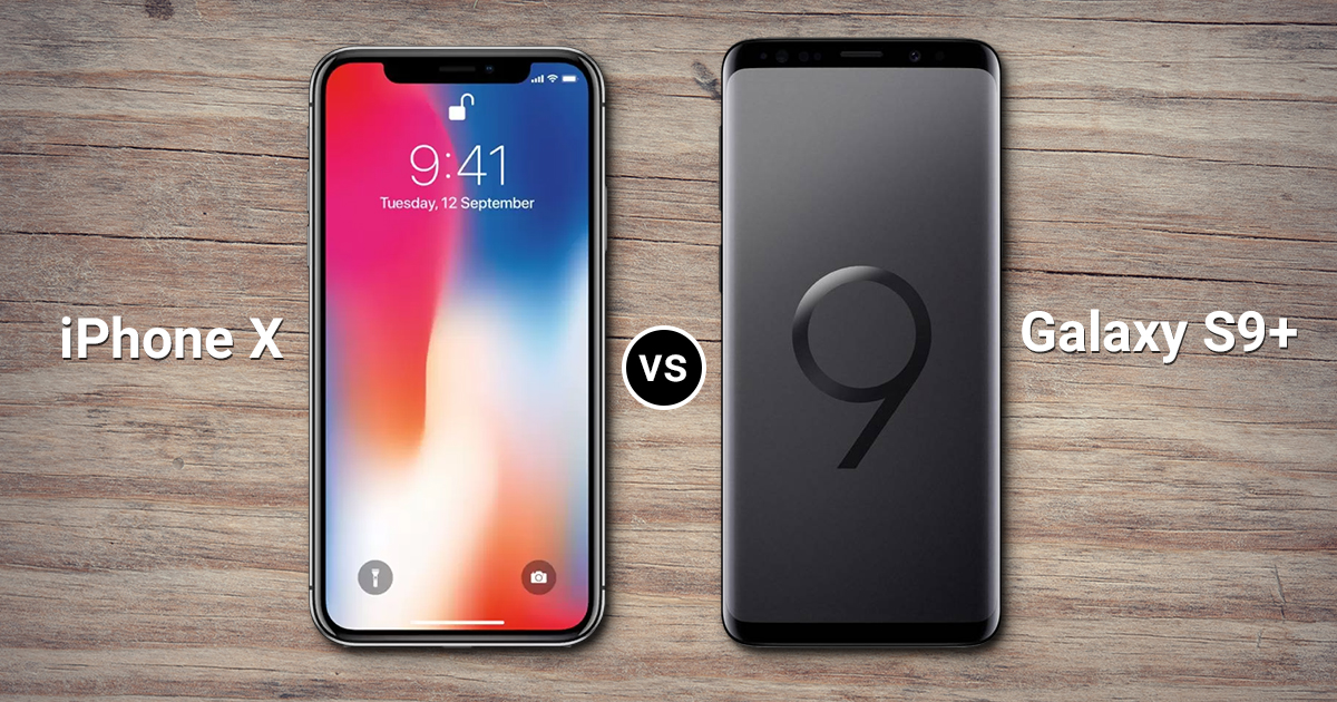samsung galaxy s9 vs apple iphone x specs comparison which one is better smartprix bytes