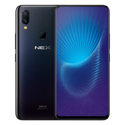 Nex A with rear fingerpint sensor