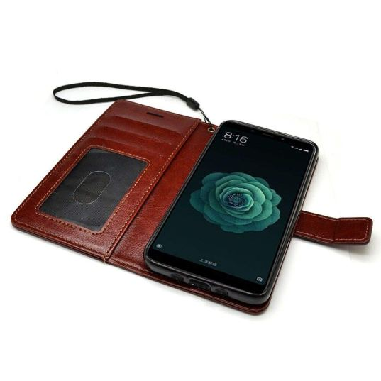 40c977cd483 This leather-based cover doubles up as your wallet as well as phone cover.  This is flip based cover has a 3 separate provision for keeping your money  as ...
