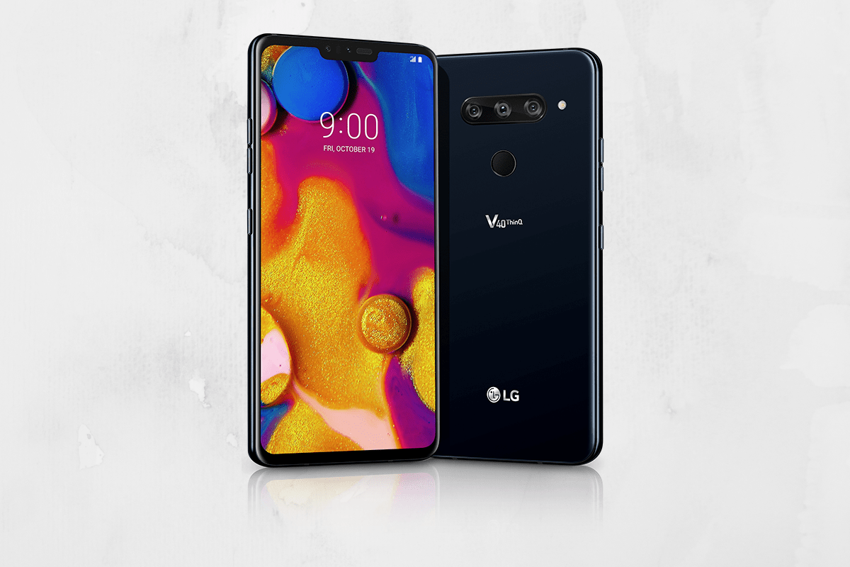 LG V40 ThinQ with 6 4-inch QHD Display and 5 Cameras