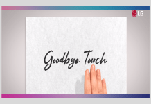 "LG Teases ""Goodbye Touch"" at MWC 2019 (Source: LG Youtube)"