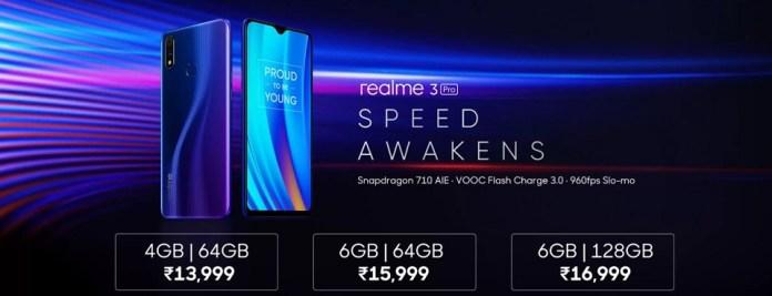 Realme 3 Pro Price
