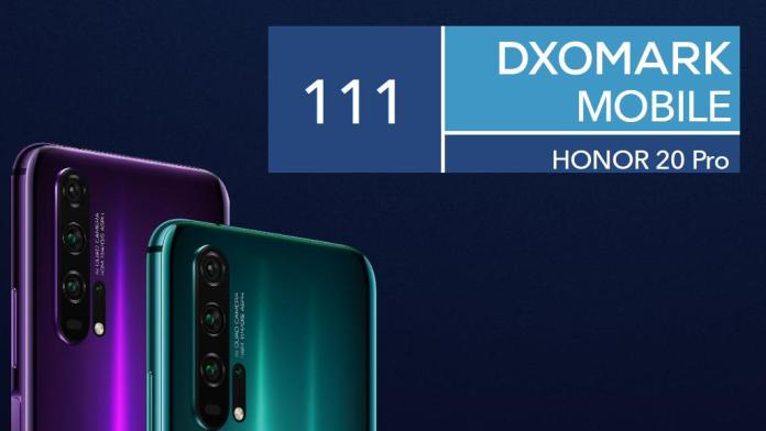 Honor 20 Pro DXOMark