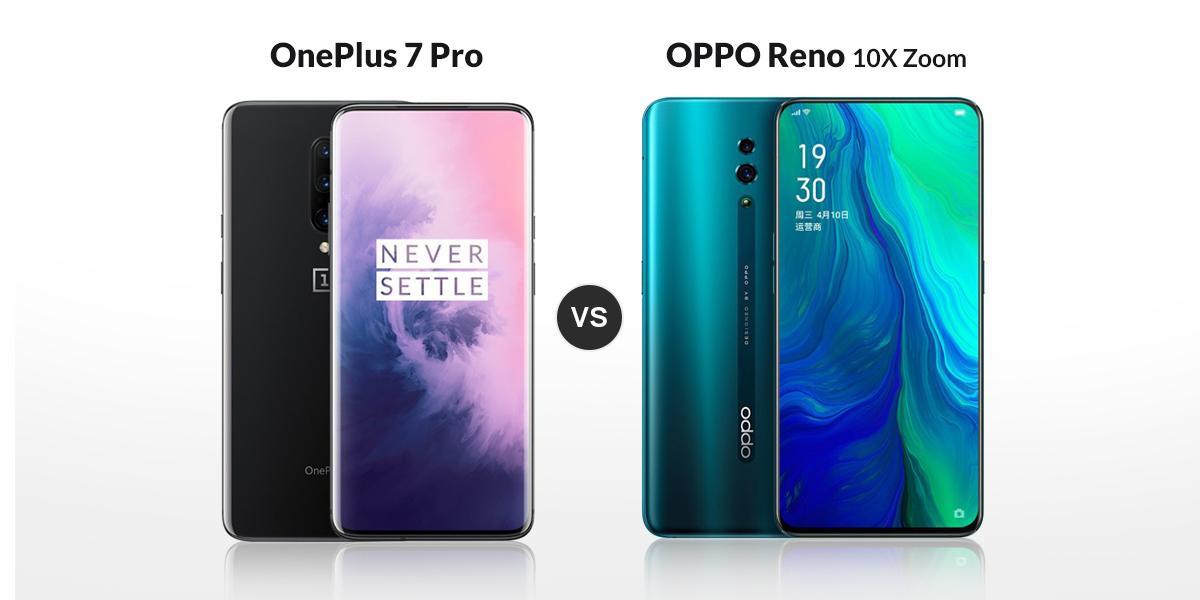 OnePlus 7 Pro VS Oppo Reno: Specs Comparison - Smartprix Bytes