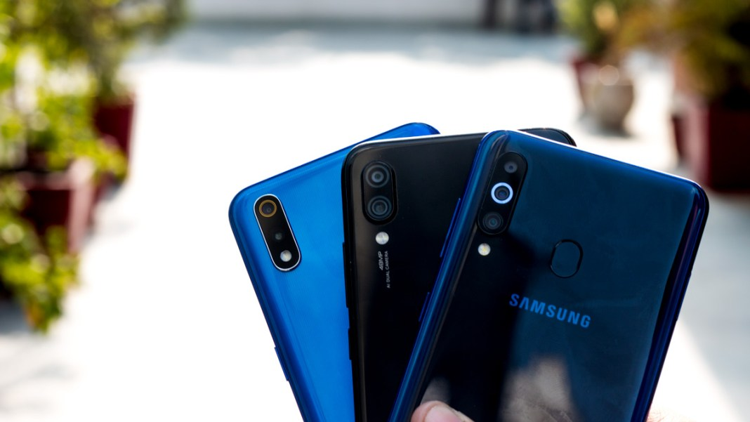 Samsung Galaxy M40 vs Redmi Note 7 Pro vs Realme 3 Pro comparison