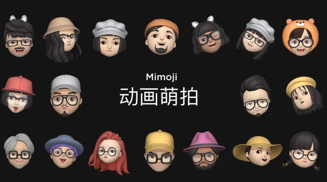Xiaomi has released AR based Mimoji avatars